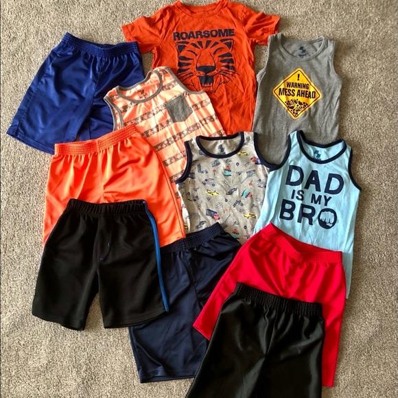 Boys Shirts Tanks Shorts Children's Place Sport 5T